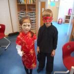 08_(1) Masken basteln mit Frau Stiehle