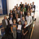 Umweltpreisverleihung im Stuttgarter Rathaus mit Baubürgermeister Peter Pätzold.