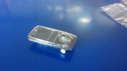 Im Inneren gab es eine Magnesiumplatte, die in Verbindung mit der Salzwasserlösung Wärme erzeugte....