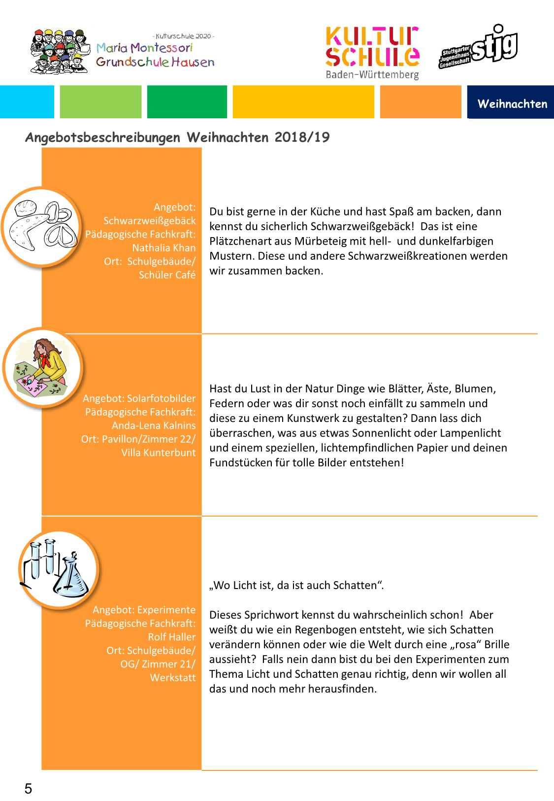 Ganztagesschule Maria Montessori Grundschule Hausen