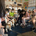In der Abschlussrunde fassten die Kinder ihre tollen Eindrücke dieser tierischen Unterrichtsstunde nochmals zusammen.